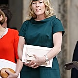Autumn Phillips at the Queen's 90th Birthday Service in June 2016