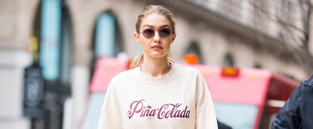 Whether You Like Piña Coladas or Not, You're Going to Love Gigi Hadid's Kitschy Sweatshirt