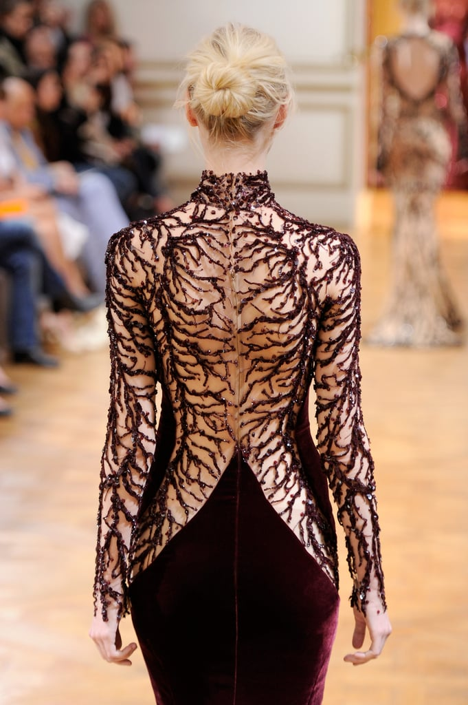 Zuhair Murad was flawless and sexy from every angle.