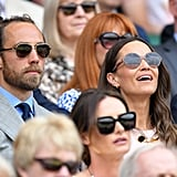 Pippa and James Middleton at Wimbledon 2019 Pictures