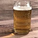 Engraved Craft Beer Glass
