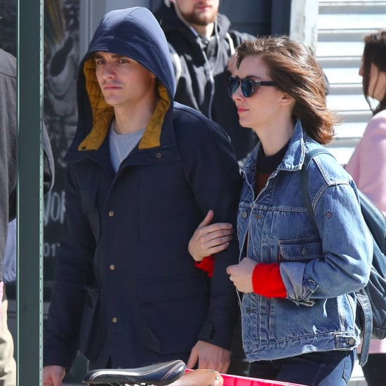 Dave Franco and Alison Brie Out in NYC April 2017
