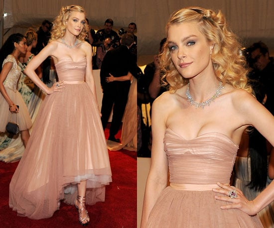 Jessica Stam at the 2011 Met Gala