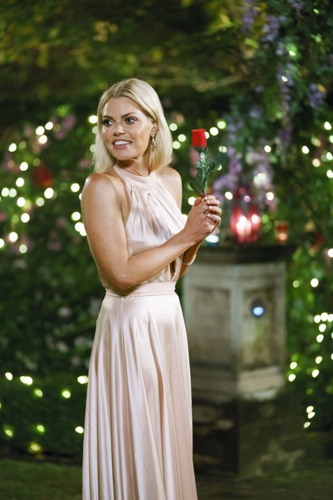 Sophie Monk Wearing a Nude Gown in Episode One