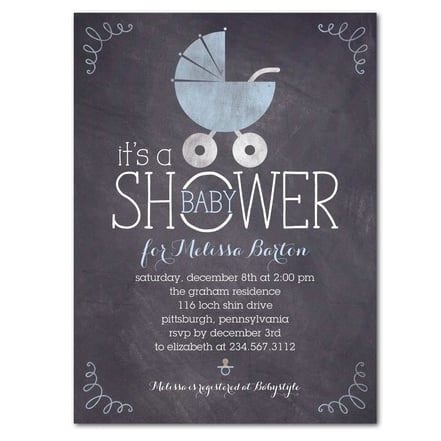 Cute Baby Shower Invites