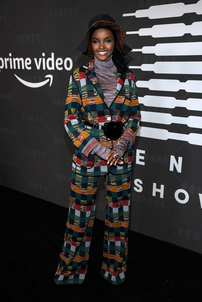 Halima Aden at the Savage x Fenty New York Fashion Week Show