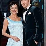 Homeland's Damian Lewis and Helen McCrory looked great together.