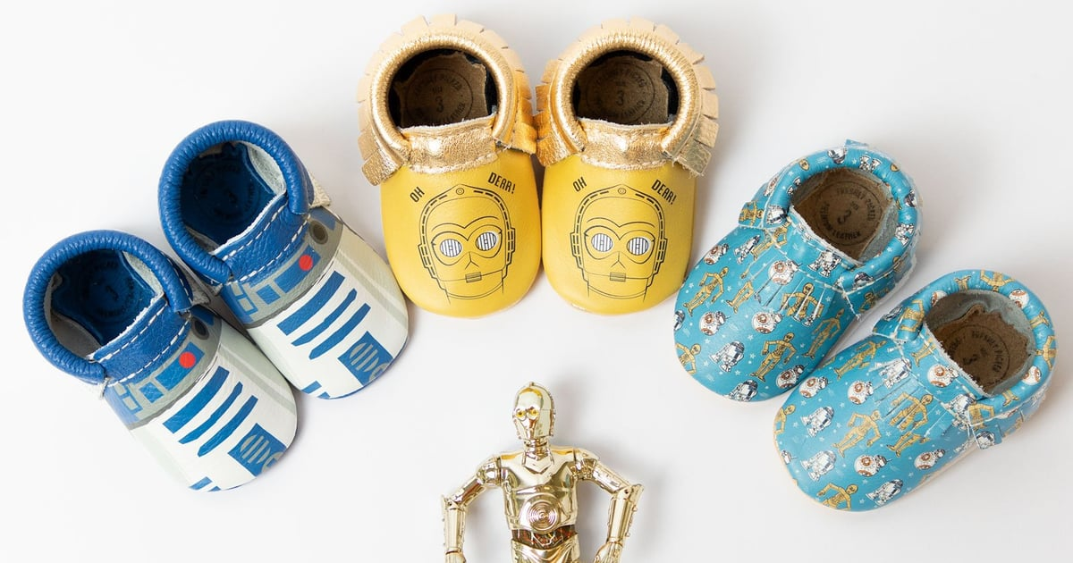 Freshly Picked Just Released 15 — Yes, 15! — Pairs of Star Wars Moccasins For Little Jedis