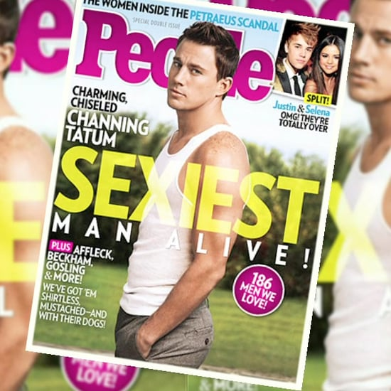 Channing Tatum Is People's Sexiest Man Alive (Video)