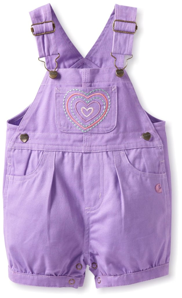 Carhartt Girls Infant Twill Shortalls