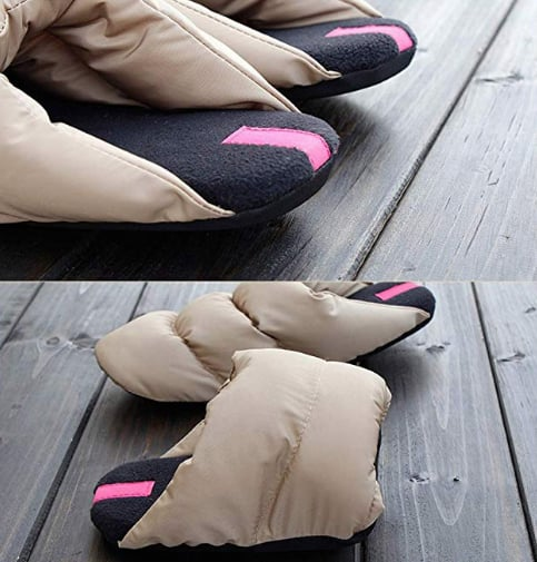 They even have memory foam insoles that mold to your feet.