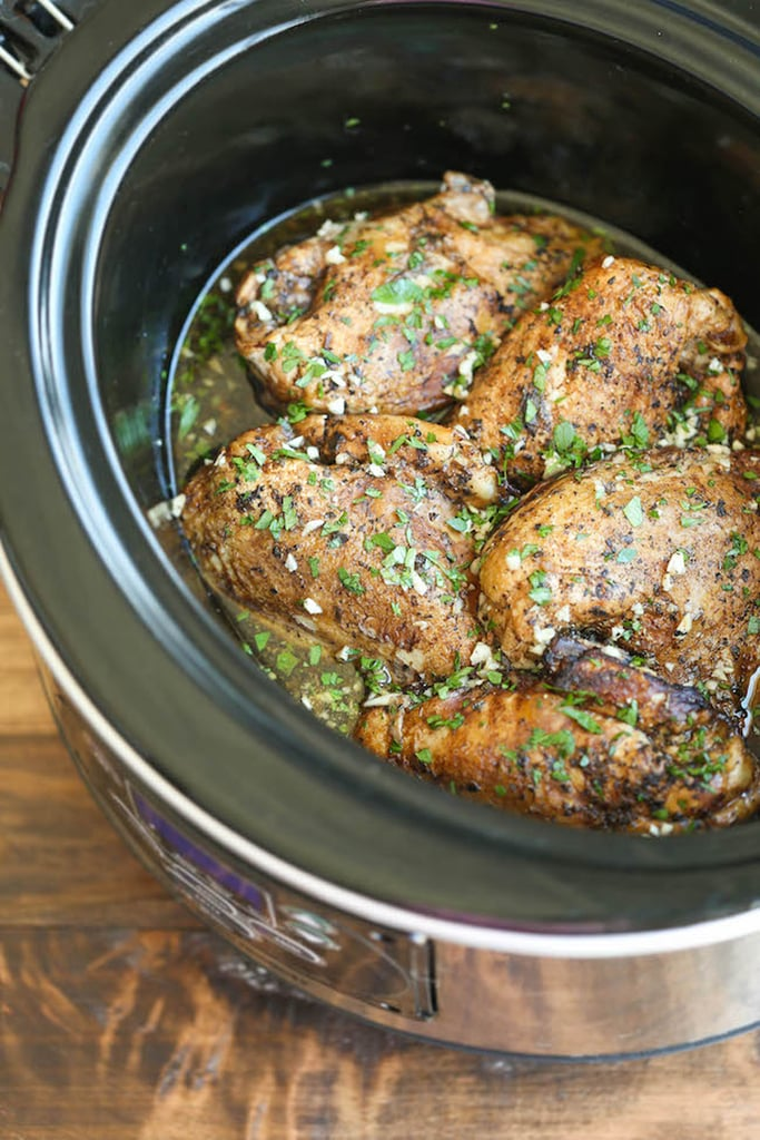 Slow-Cooker Balsamic Chicken Breasts