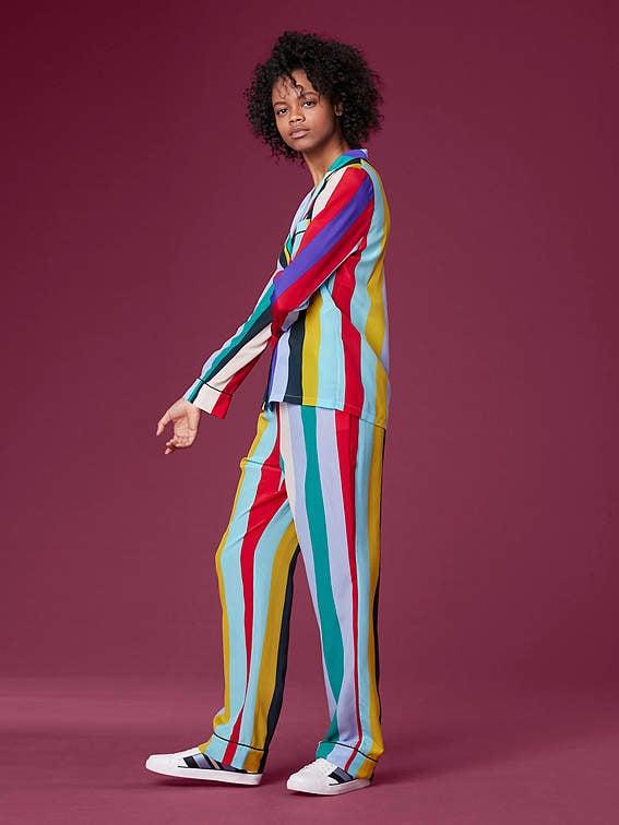 Diane von Furstenberg Pajama Set