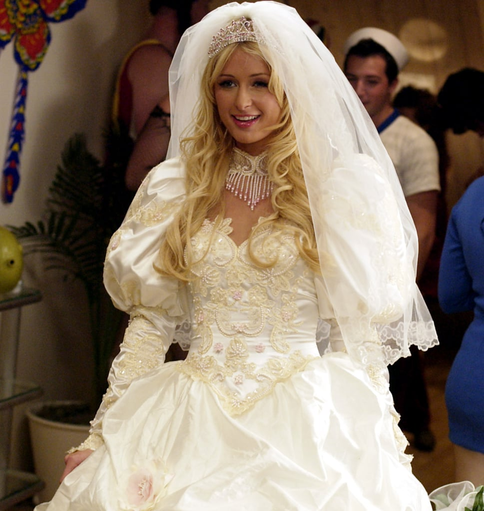 What Paris Hilton Looks For in a Wedding Dress