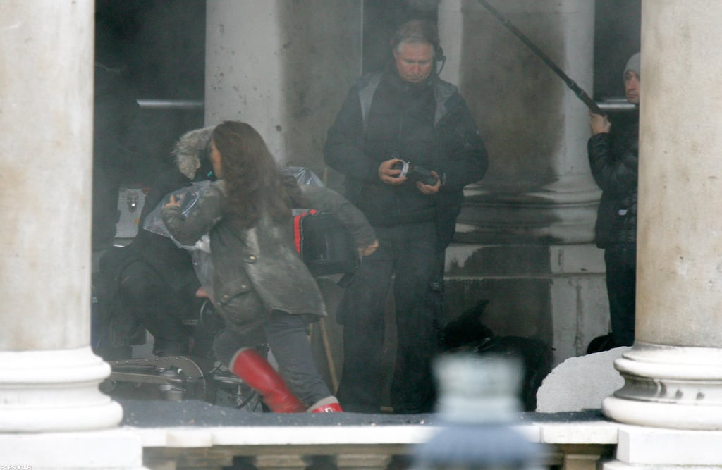 Natalie Portman filmed scenes in London.
