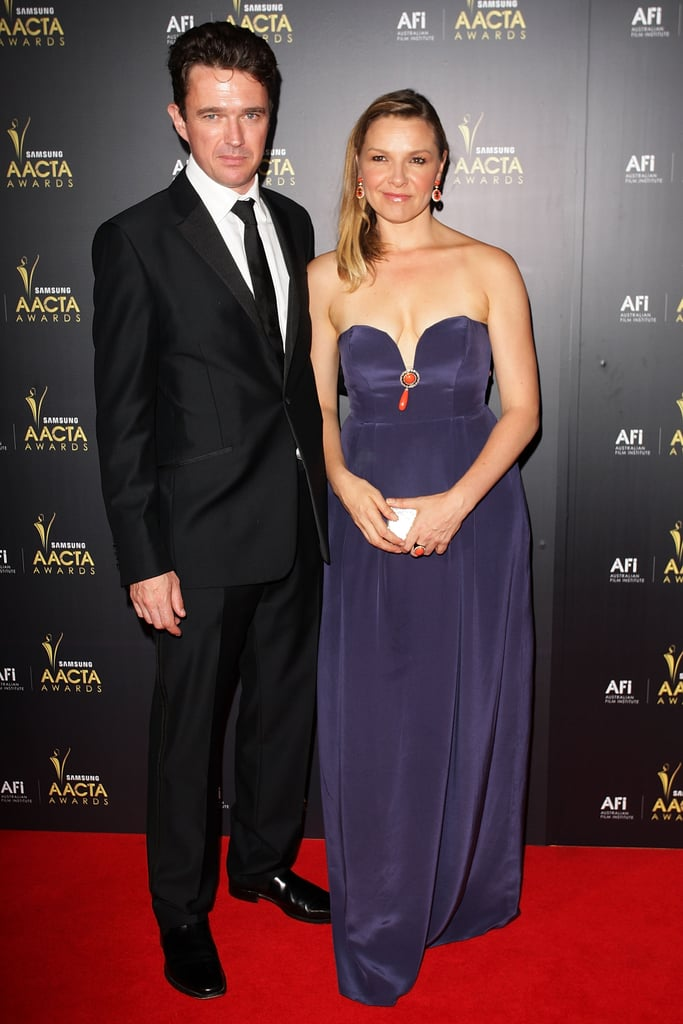 Matt Day and Justine Clarke