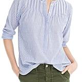 J.Crew Classic Stripe Popover Shirt