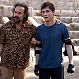 Logan Lerman as Percy Jackson Logan Lerman brings his boyish good looks back to the fantasy world in Percy Jackson: Sea of Monsters. A heroic demigod fighting off monsters and doing his part to save the people he loves? Yeah, that's pretty hot.