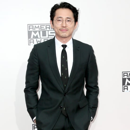 Steven Yeun at the American Music Awards 2016