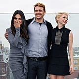 Michelle Williams and Mila Kunis Follow Oz's Yellow Brick Road in Style