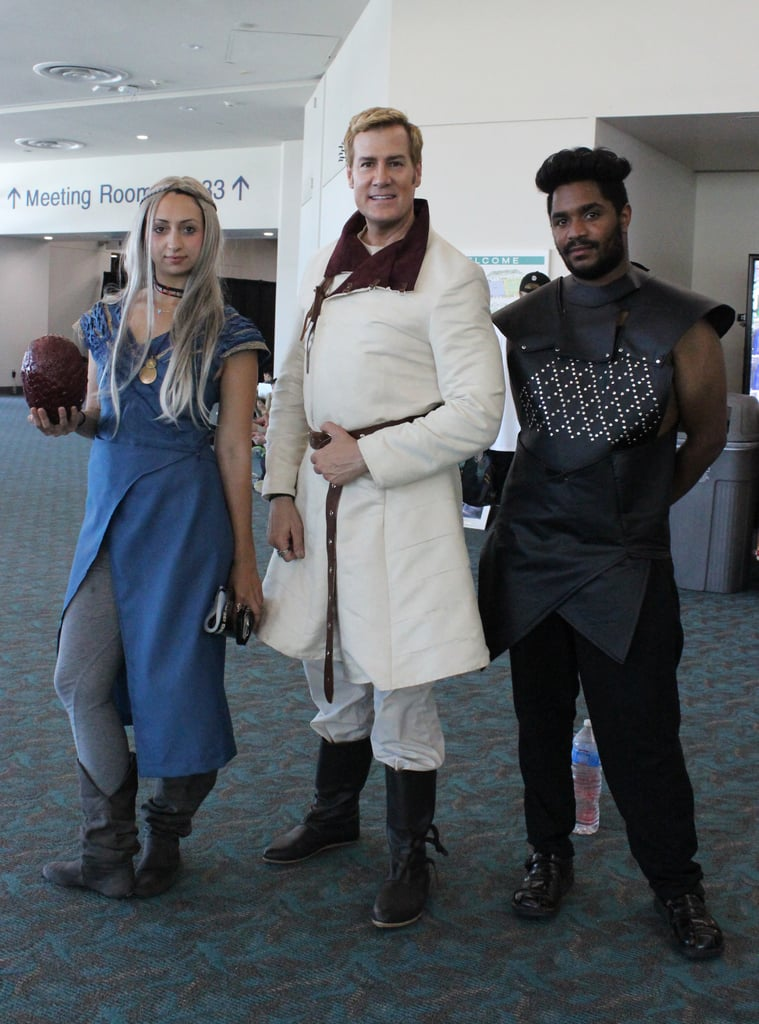 Diy game of thrones costumes popsugar tech daenerys targaryen jaime lannister and grey worm solutioingenieria Choice Image