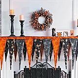 Pennant Mantel Scarf Halloween Decoration