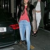 In Paris for the Victoria's Secret Fashion Show on Nov. 28.