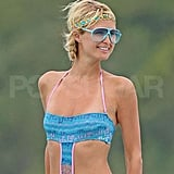 Photos of Paris Hilton and Doug Reinhardt in Bora Bora