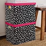 MayBaby Painted Hearts Paper Storage Bins ($21-$30 and free shipping)
