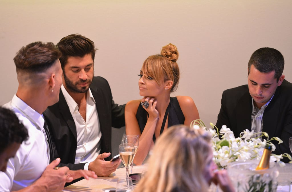 Nicole Richie sat with Andy Lecompte for the Style Awards.