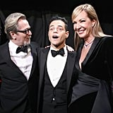 Pictured: Gary Oldman, Rami Malek, and Allison Janney