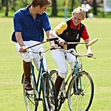 Prince Harry and Zara Tindall