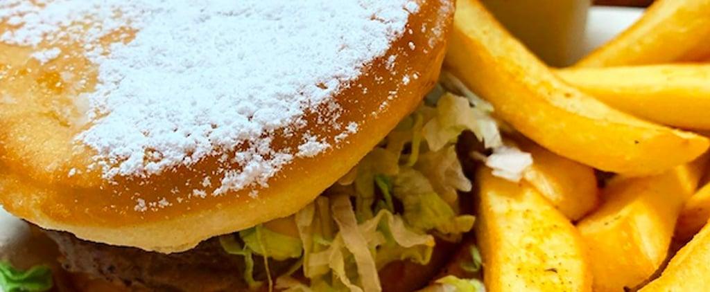 Beignet Burger at Walt Disney World's Port Orleans Resort