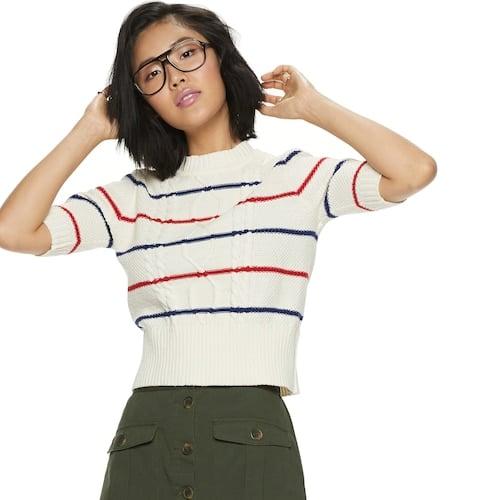 POPSUGAR Elbow Sleeve Sweater