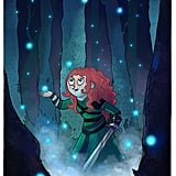 Cartoon Merida