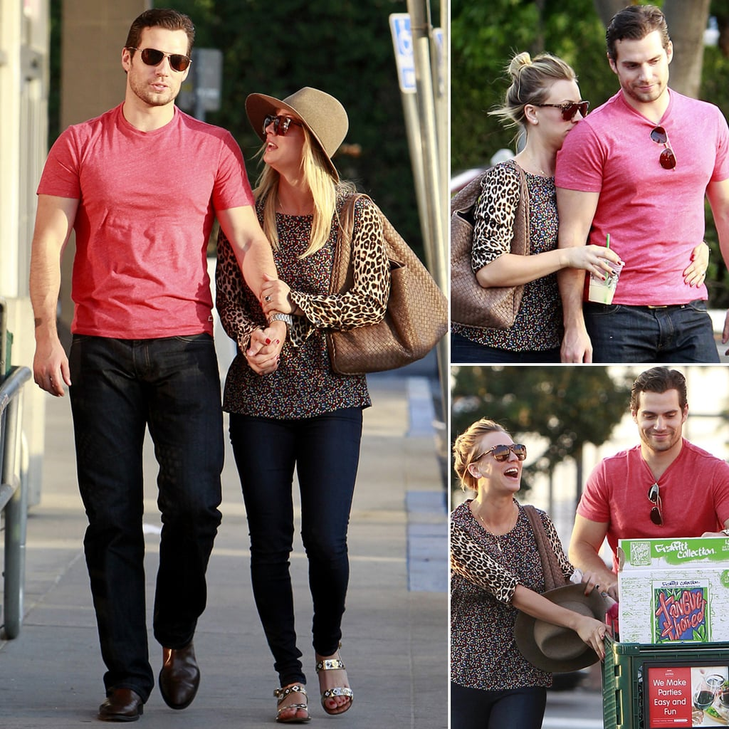 Henry Cavill and Kaley Cuoco Holding Hands | Pictures ...