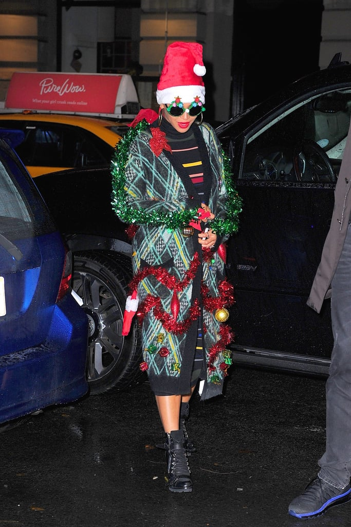Beyonce's Ugly Christmas Sweater