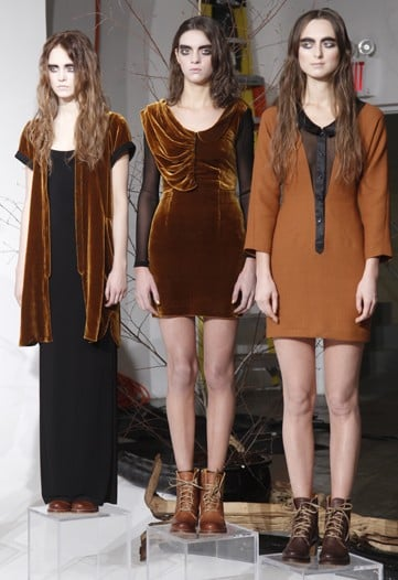 Fall 2011 New York Fashion Week: NAHM