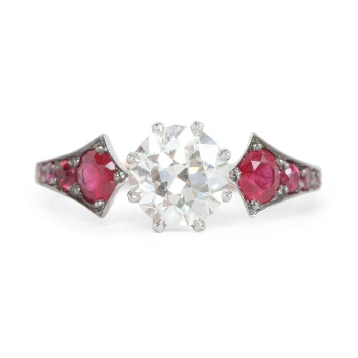 Ruby Wings Ring
