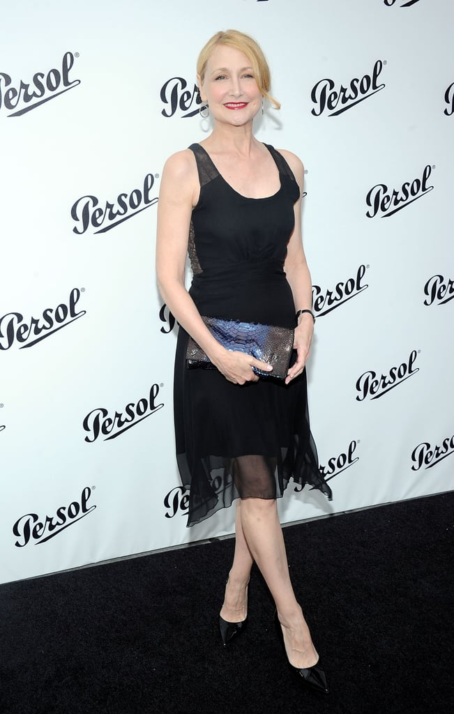 Patricia Clarkson was in attendance at the Persol Magnificent Obsessions event in NYC.