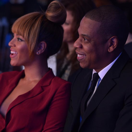 Beyonce And Jay-Z At Sports Awards For LeBron James