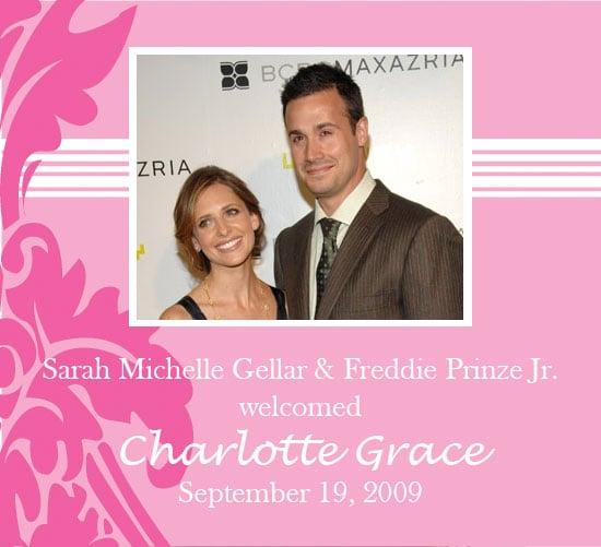 It S A Girl For Sarah Michelle Gellar And Freddie Prinze