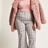 Forever 21 Plus Size Plaid High-Rise Flare Pants