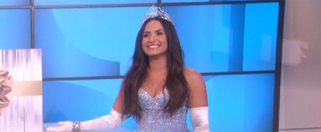 Demi Lovato as Cinderella on The Ellen Show Video