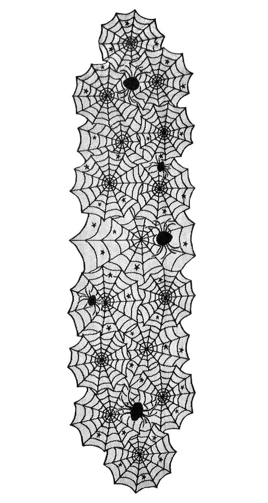 DII Halloween Lace Table Runner