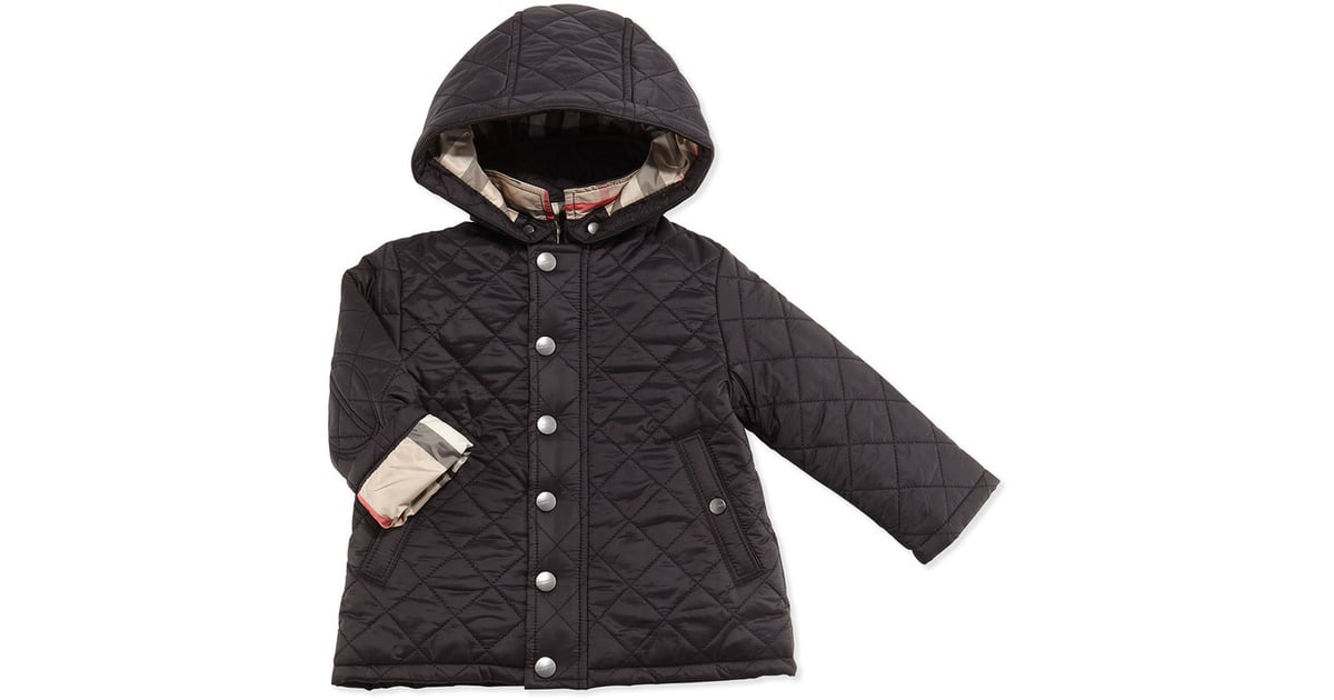 08cbe4ce7b41 Burberry Jerry Quilted Jacket w  Removable Hood ( 195)