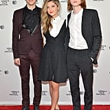 Nat Wolff, Zoe Levin, and Jack Kilmer walked the red carpet at Palo Alto.