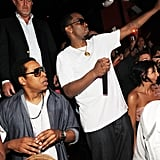 Jay and Diddy Party in Vegas