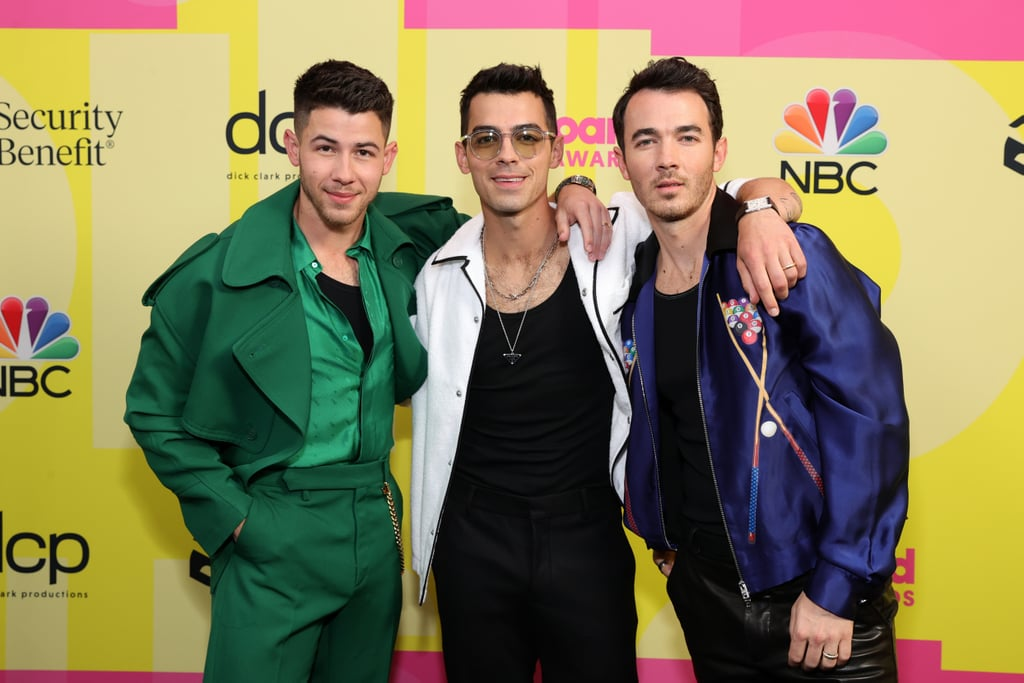 """The Jonas Brothers are back together, and we couldn't be more excited. On Sunday night, Kevin, Joe, and Nick attended their first public event together in over a year as they stepped out for the Billboard Music Awards. The brothers looked fashionable as ever as they posed for the cameras. Nick, who is hosting the show, also snapped a handful of sweet photos with his wife, Priyanka Chopra, making the event a full-blown family affair. The brothers also treated fans with a medley of some of their recent hits as they closed out the show on stage. The fun outing comes just a few days after the Jonas Brothers announced their upcoming Remember This tour and released their latest single, """"Leave Before You Love Me,"""" with Marshmello. The group are set to perform the song for the first time during the show. Naturally, we can't wait for everything else the Jo Bros have in store later this year!       Related:                                                                                                           The Jonas Brothers' Wild Evolution Will Make You Feel Like a Teenager Again"""