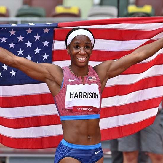 Keni Harrison's 2021 Olympics TikTok With Jenna Prandini